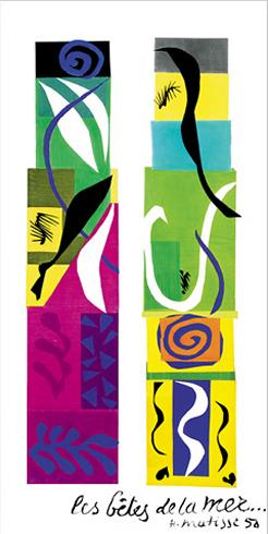 Henri Matisse: Les betes de la mer Henri Matisse